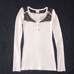 Free People Thermal Trinket Henley